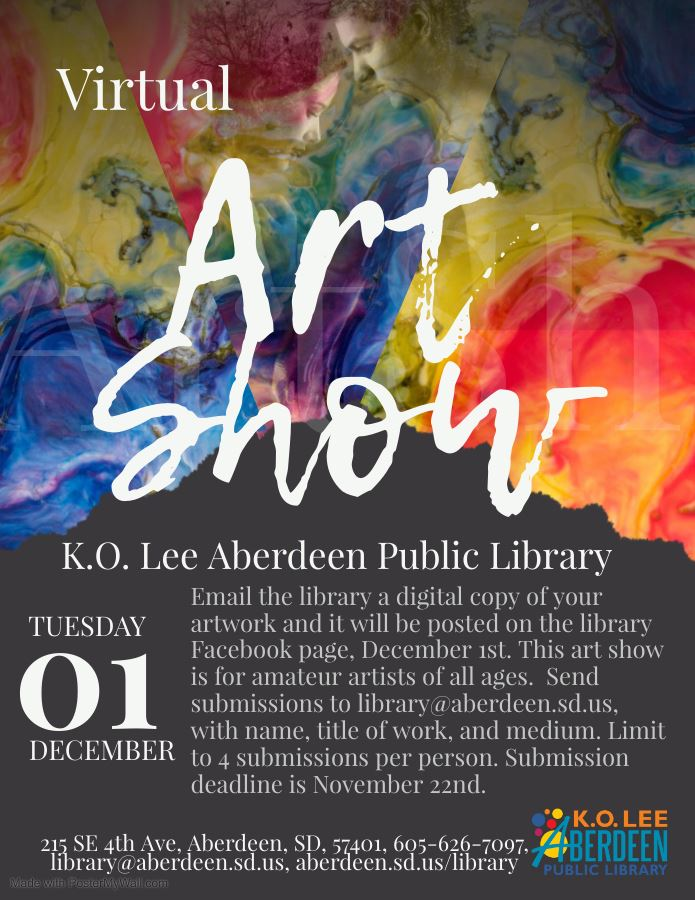 Library Virtual Art Show - Made with PosterMyWall