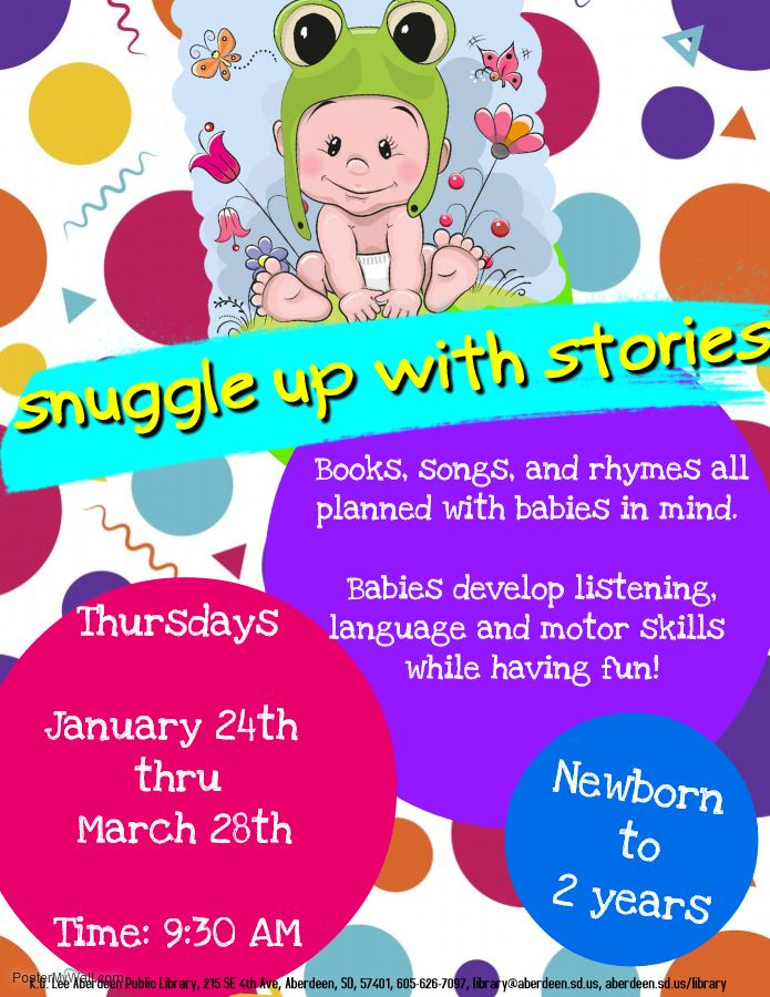 Snuggle Up with Stories - Made with PosterMyWall-1