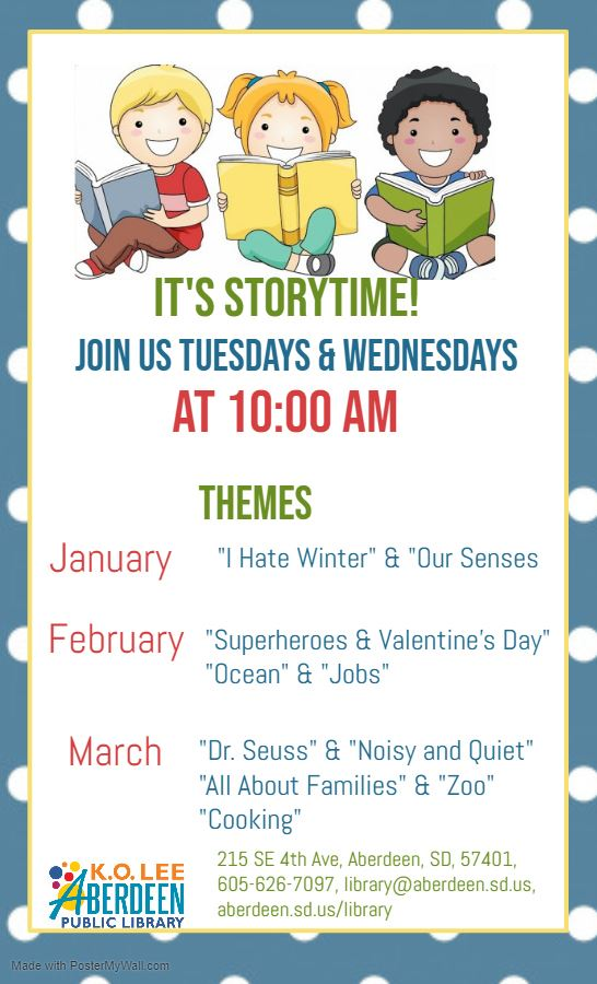 Copy of Story Time Flyer Template - Made with PosterMyWall (2)
