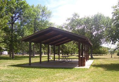 Melgaard Park Shelter B