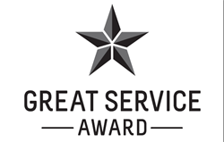 Great Service Award Image