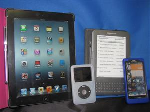 Gadgets and Gizmos Ipad Ipod Kindle Smartphone Examples